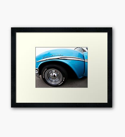 Pontiac Star Chief Fender Framed Print