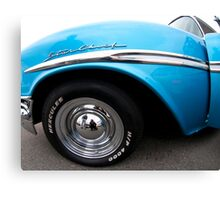 Pontiac Star Chief Fender Canvas Print