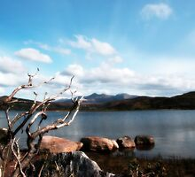 View of Carragh lake by morrbyte