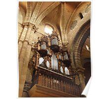 Organ - Avila, Spain Poster