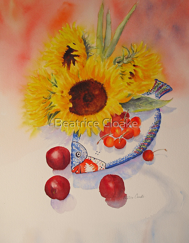 SUNFLOWERS by Beatrice Cloake Pasquier
