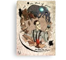 H.P Lovecraft 125th Anniversary  Canvas Print