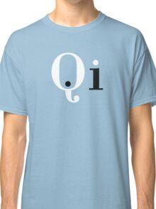 Qi Ki Chi Yin Yang Energy Symbol Classic T-Shirt