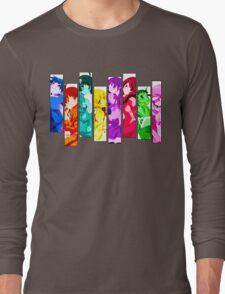 Female Chars from Monogatari Series Long Sleeve T-Shirt
