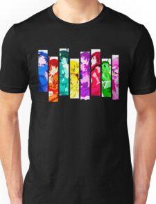 Female Chars from Monogatari Series Unisex T-Shirt