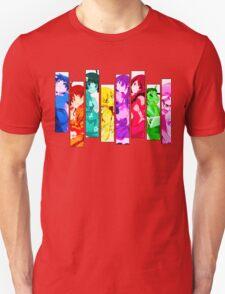 Female Chars from Monogatari Series T-Shirt