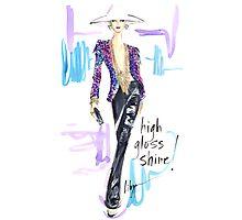 High Gloss Shine! Photographic Print