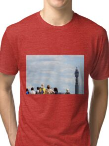 Post Office Tower from Primrose Hill Tri-blend T-Shirt