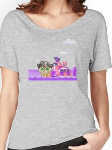 Parodius Cat Sub Women's Relaxed Fit T-Shirt