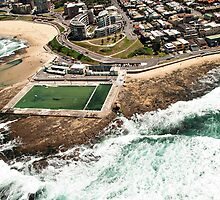 Newcastle Aerial View by sallydexter