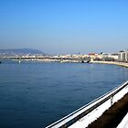 Esplanade, River Danube, Budapest, Hungary, 2011 by ambrusz