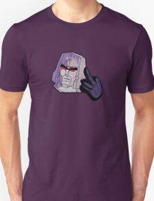 Mega-Flipped-Off Unisex T-Shirt