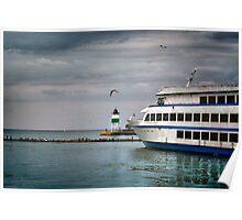 Lake Michigan Cruise Poster