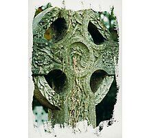 Celtic cross tears of Christ  Photographic Print