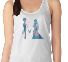 Watercolor Corpse Bride (white) Women's Tank Top