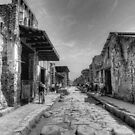 Pompeii B&W!! by Colin Metcalf