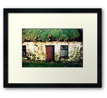Clare cotttage Framed Print