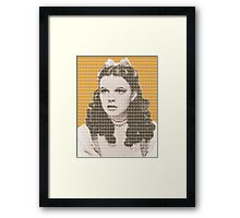 Over the Rainbow Yellow Framed Print