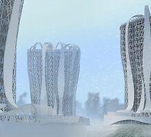 Architectural Fantasy_1 by Irina Kolpaschikova
