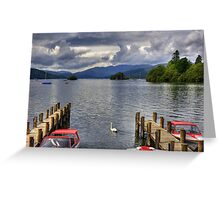 Boats for hire Greeting Card