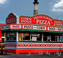 Pizza Booth in HDR by imagetj
