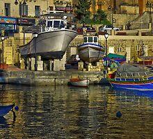 St Julians Malta by Edwin  Catania
