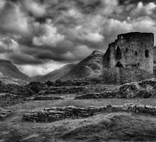 Dolbadarn Castle, Llanberis by Peter Thomas