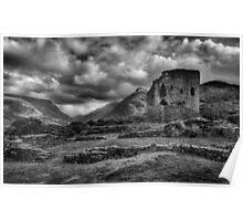 Dolbadarn Castle, Llanberis Poster