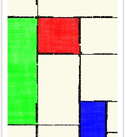 Mondrian 2000 Sticker