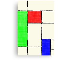 Mondrian 2000 Canvas Print