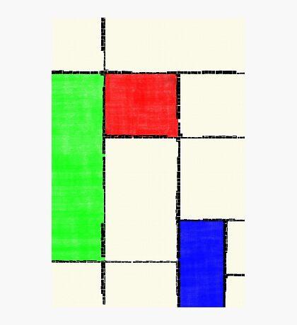 Mondrian 2000 Photographic Print