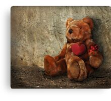 LOVE Makes ALL Things Bearable ! Canvas Print