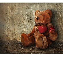 LOVE Makes ALL Things Bearable ! Photographic Print