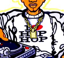 """""""B-BOY BUDDHA: 4 ELEMENTS"""" Sticker"""