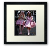 Barbie Dolls, for adults only! Framed Print