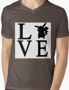 Love Pikachu Pokemon T-Shirt