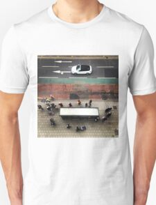Busy at the bus stop T-Shirt