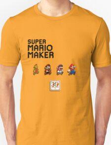 Mario Generations - Super Mario Maker T-Shirt