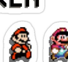 Mario Generations - Super Mario Maker Sticker