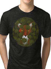 Invisible Fox Tri-blend T-Shirt