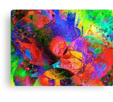 Psychedelic Balloons Canvas Print