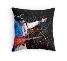 8 Ball Aitken Exploding on Stage Near You Throw Pillow