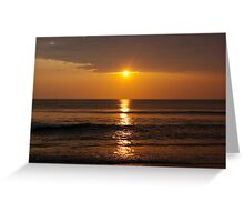 Sunrise over the Atlantic Greeting Card