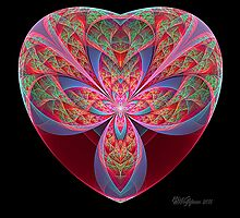 Split Elliptic Heart by wolfepaw