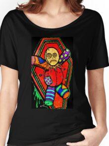 VooDoo Doll tattoo art Women's Relaxed Fit T-Shirt