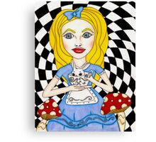 Alice Portrait Canvas Print