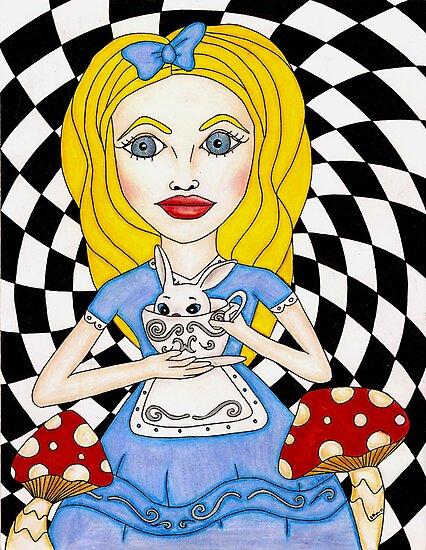 Alice Portrait by Octavio Velazquez