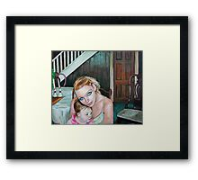 A brave new world (for the love of Baby) Framed Print