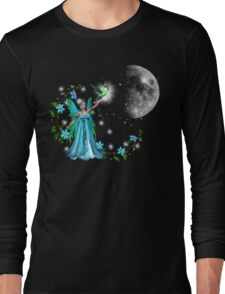 Blue Princess Long Sleeve T-Shirt