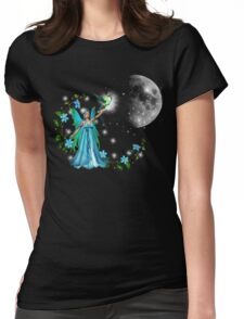 Blue Princess Womens Fitted T-Shirt